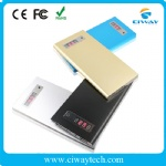 Smart slim polymer power bank