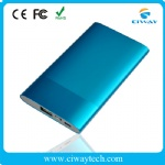 Metal polymer portable mobile power bank